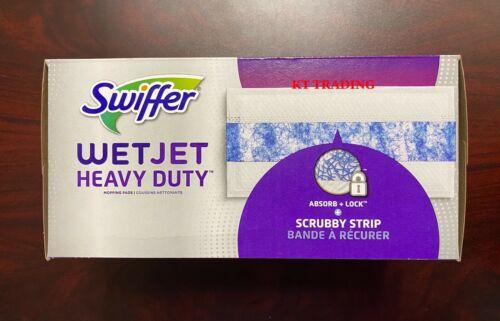Swiffer WETJET Heavy Duty Hard Floor Mopping Refill Pads w/ Scrubby Strip ~20 Ct
