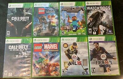XBOX 360 GAME BUNDLE, used for sale  Shipping to India