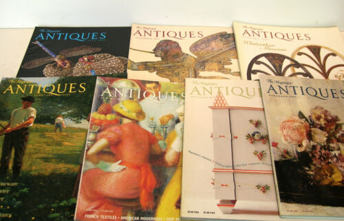 Antiques The Magazine 2002 Seven Issues
