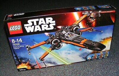 STAR WARS LEGO 75102 POE'S X-WING FIGHTER B-STOCK BRAND NEW SEALED BNIB
