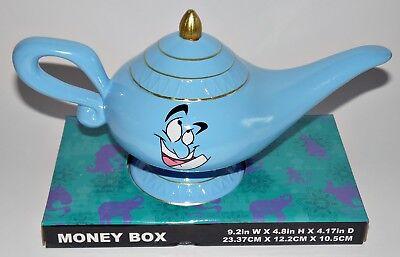 Disney Aladdin Genie Spardose Sparbüchse Sparschwein Wunderlampe Deko Aladin