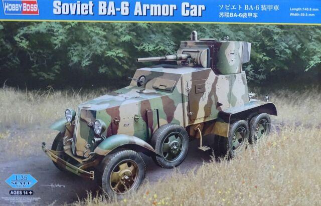 HOBBYBOSS® 83839 Soviet BA-6 Armor Car in 1:35