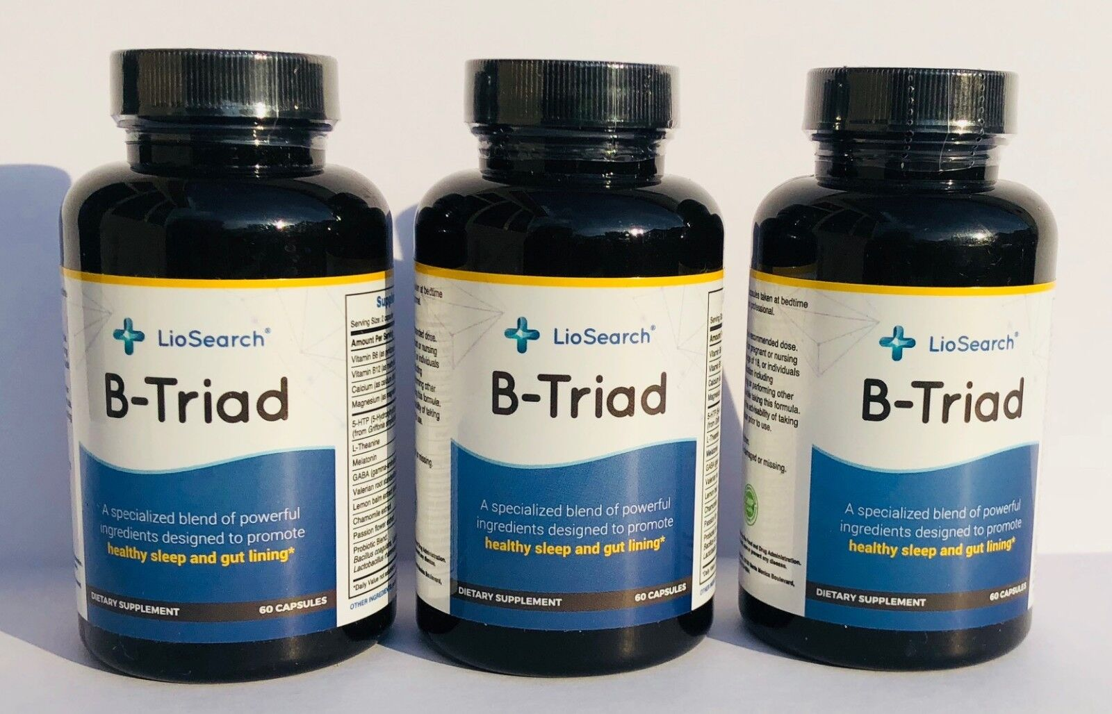 B-Triad Extra Strength Sleeping Pills/Stress Relief Timed Re