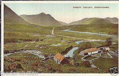 Erriff Valley Connemara  old Unposted Postcard image from 1904