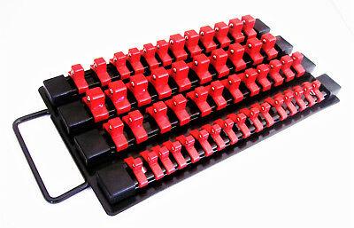 49Pc Goliath Industrial Socket Storage Tray Rail Rack Holder 1 4 3 8 1 2 Sstr