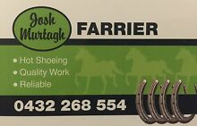 JOSH MURTAGH FARRIER SERVICE TAFE QUALIFIED FARRIER Armidale 2350 Armidale City Preview