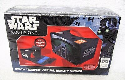 Star Wars Rogue One Death Trooper Virtual Reality Viewer Smartphone Android iOS