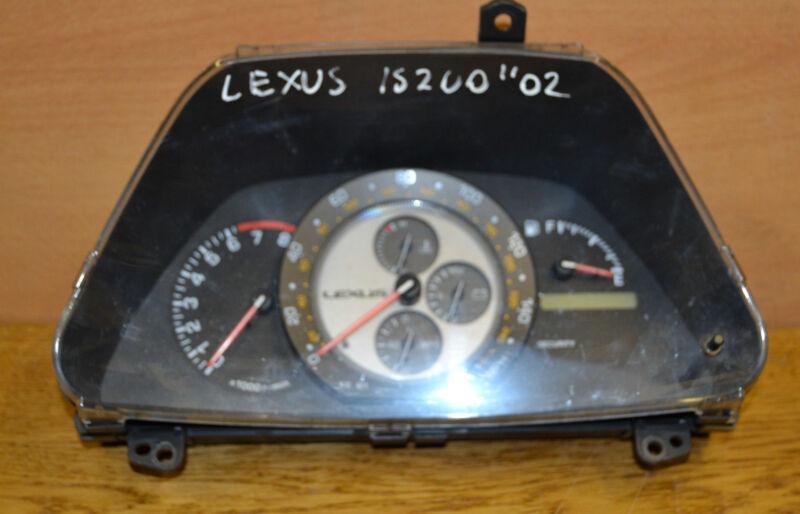 Lexus IS200 Speedometer 2.0 Petrol Manual Instrument Cluster 2002 83800-53060