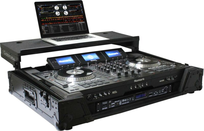 Odyssey FZGSNS73WX1BL Case for Numark NS7III DJ Controller