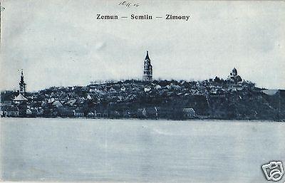 16729/ Foto AK, Zemun/Belgrad, Zimony, 1916