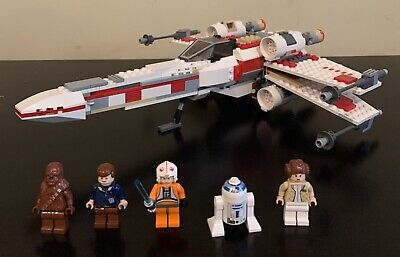 LEGO Star Wars X-Wing Fighter 2006 (6212) - Appears Complete