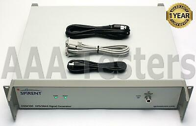 Spirent Gss6100 Gps L1 Sbas Rf Signal Generator
