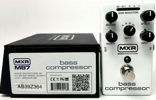 used MXR M87 Bass Compressor, Excellent Condition with Box!