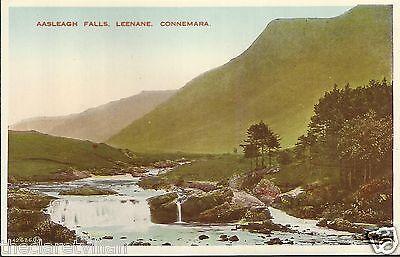 Aasleagh Falls Leenane Connemara  image 1904 Old Unposted Postcard