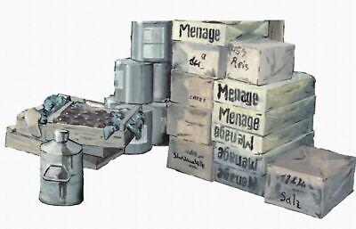 CMK German WW II Proviant Set for Field Kitchen 1:72 Bausatz Model Kit F72128