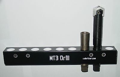 3 Morse Taper Shank Drill Bit Storage Rack Wall Mounting Mt3 3mt Set Aw2