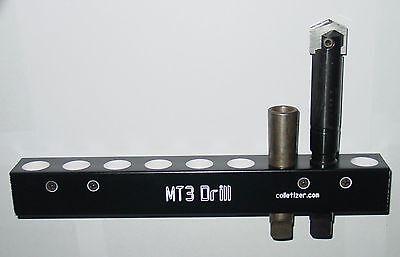3 Morse Taper Drill Bit Storage Rack Wall Mounting Mt3 3mt Set Aw2