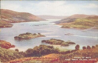 Kyles of bute from caladh castle valentine 1944