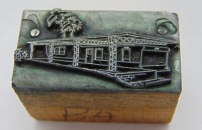 Printing Letterpress Printers Block Trailer With Cover Porch