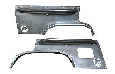 Rear Body Armor W Flares-Jeep Cherokee XJ 1984-2001 (Body Armor Jeep Bumpers)