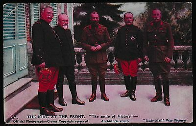 GB About 100 Years Old King George V at World War I with Victory Smile