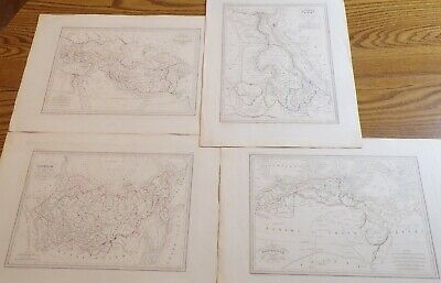 19th Century Maps of North Africa, Asia, and Europe by Conrad (Map Of Europe Middle East And North Africa)