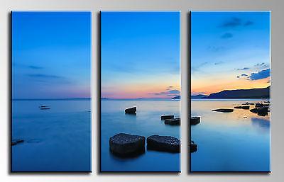 Cuadros En Lienzo, Puesta de Sol Mar, 100 x 62 cm, ref....