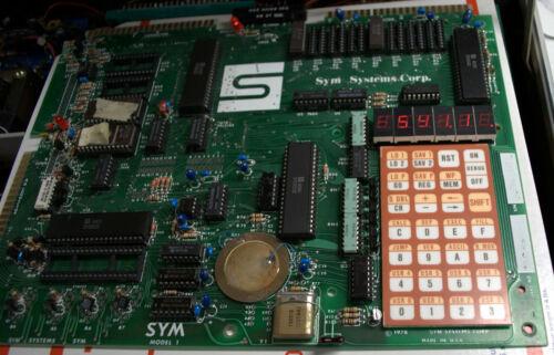 Vintage SYM-1  Microprossor Trainer Works!! Ships Worldwide!!!