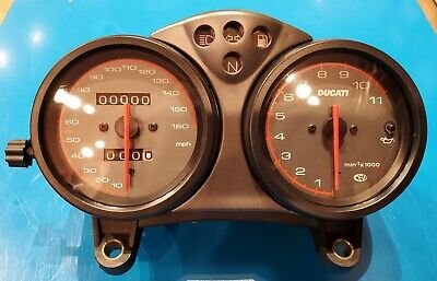 Ducati Monster M900 / M750 Complete Instrument Gauge Assembly