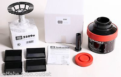 Jobo #2520 MultiTank 2 + 2509n 4X5 reel (inversion lid) NEW IN BOX
