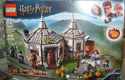 New Sealed  LEGO Harry Potter Hagrid's Hut Buckbeak's Rescue 75947 Box Damaged