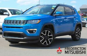 2017 Jeep Compass Limited 4X4 | HEATED LEATHER | NAV | BACK U...