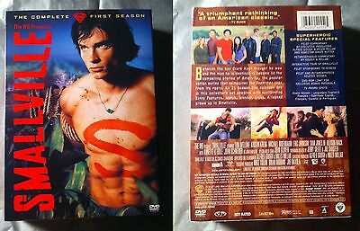 Smallville - Season 1 (DVD, 2003, 6-Disc Set) (set was watched once)