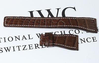 Original IWC 3764 Lederarmband Da Vinci Strap Alligator Armband AVS12506 AD4