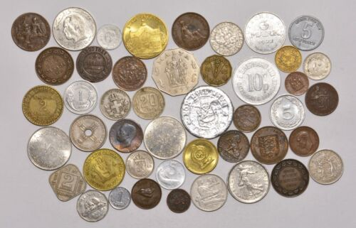 LOT - Mostly 1900s Coins & Tokens #CC15
