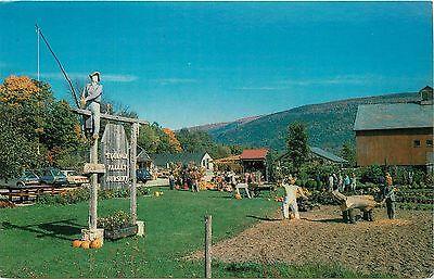 EQUINOX Valley Nursery Manchester VT Halloween Fall Autumn Vermont Postcard (Halloween Valley)