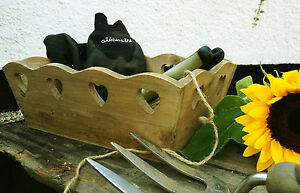 Wooden-Storage-Box-Hearts-Trug-Vintage-Chic-Decorative-Wedding-Crate-2-Sizes