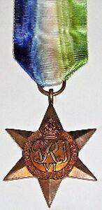 WW2 ATLANTIC STAR, 100% GENUINE FULL SIZE , WITH FREE UK POSTAGE