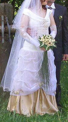 Designer  Hochzeitskleid Abend /BallKleid Brautkleid  mit Swarovski Kristalle (Kristall Hochzeit Kleid)