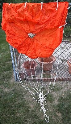 Pilot Parachute Lines Attached Brand New! Made In USA 5' Foot=152.4 (Pilot Parachute)