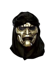 NEW 300 Immortal Vacuform Mask with Hood Adult Costume Halloween *FREE SHIPPING*