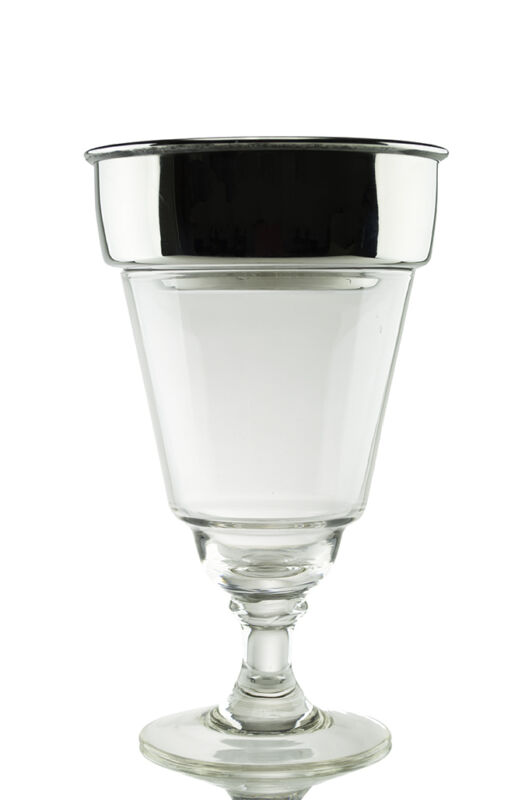ABSINTHE BROUILLEUR COUPE (DRIPPER) WITH 1 HOLE, LARGE