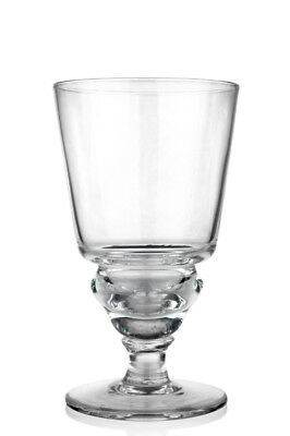 TRADITIONNEL PONTARLIER UNCUT ABSINTHE GLASS & 10 SUGAR CUBES