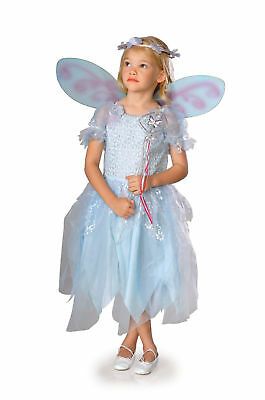 Powder Pixie Fairy Blue Dress Up Toddler Child Costume
