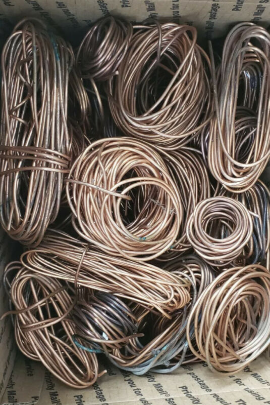 12lbs. Solid Scrap Bare Copper Wire And Or Copper Pipe