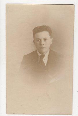 Boy c 1920s RP Postcard Vandyke Bristol 631a