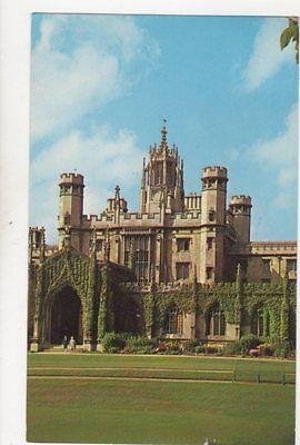 St Johns College Cambridge 1963 Postcard 226b