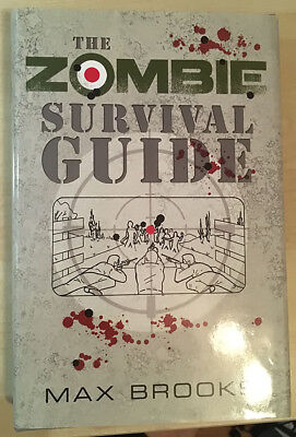 The Zombie Survival Guide - SIGNED by Max Brooks - Limited Edition 948 Copies