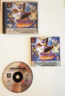 Spyro: Year of The Dragon PS1 Game
