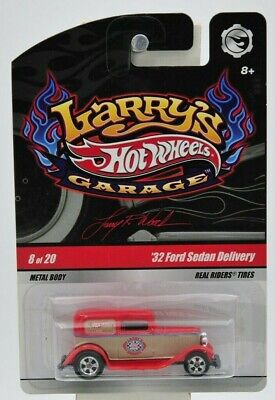 "Hot Wheels 2008 Larry's Garage ""32 Ford Sedan Delivery"" 8 of 20 ""NIP"""